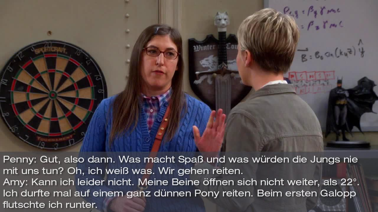 Zitate The Big Bang Theory Staffel 8 Folge 12 Bild8 - Bildquelle: Warner Bros. Television