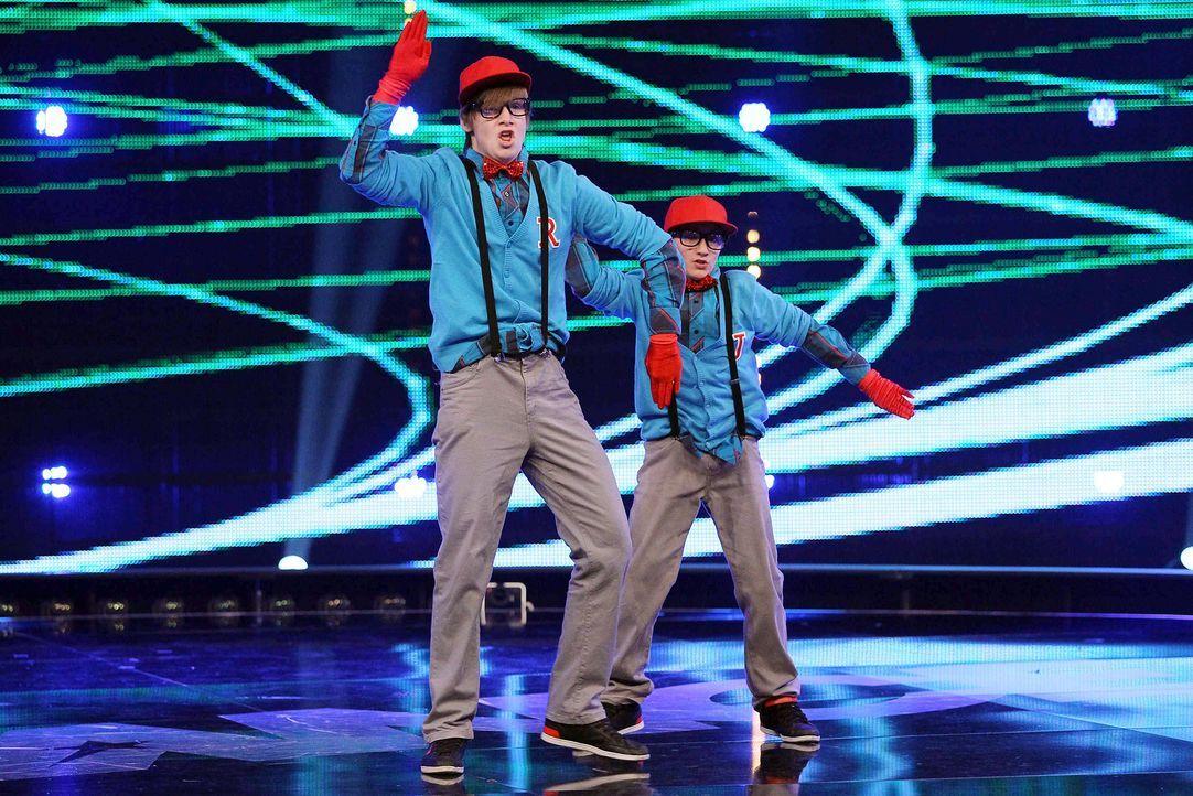 Got-To-Dance-Ricardo-und-Janik-10-SAT1-ProSieben-Guido-Engels - Bildquelle: SAT.1/ProSieben/Guido Engels