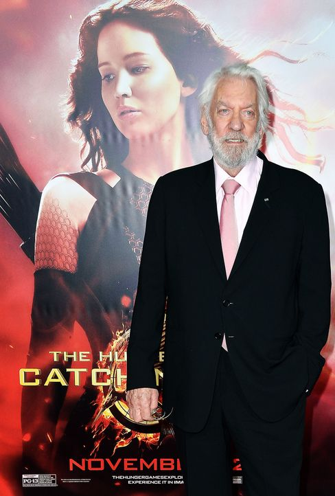 Donald-Sutherland-131118-getty-AFP - Bildquelle: getty-AFP