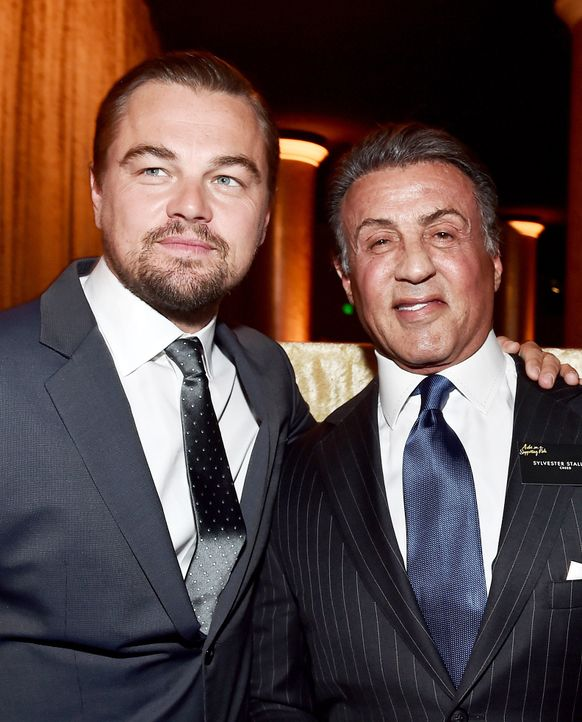 Oscar-Nominees-Luncheon-DiCaprio-Stallone-160208-getty-AFP - Bildquelle: getty-AFP