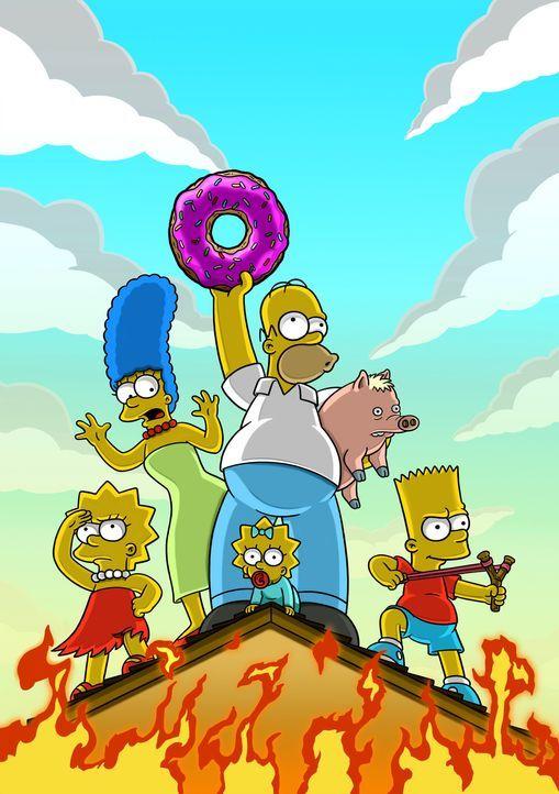 Dank Homer gerät die ganze Familie Simpson in eine wahrlich äußerst brenzlige Lage ... - Bildquelle: 2007 Twentieth Century Fox Film Corporation