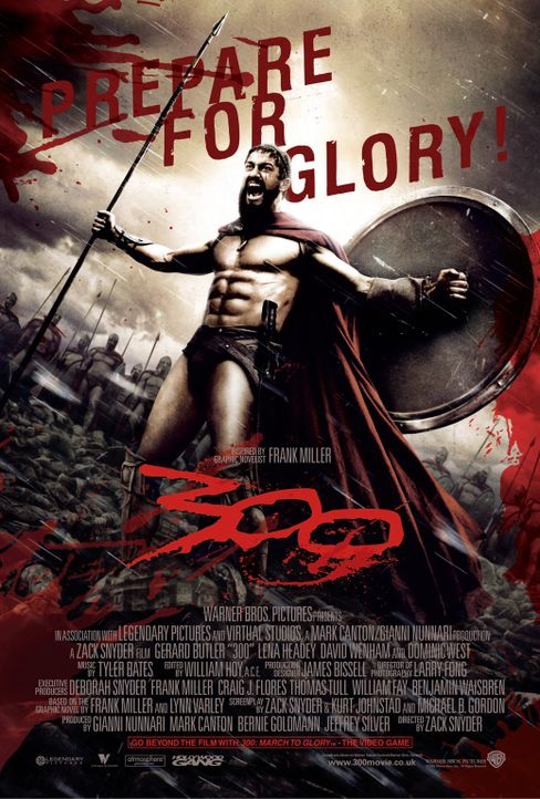 300 - Plakatmotiv - Bildquelle: TM &   Warner Bros. Entertainment Inc.