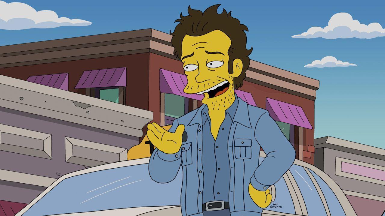 Ist nicht der Einzige, der ein großes Problem damit hat, dass Marge anfängt, Leute für Geld herumzufahren: Christopher Lloyd (Christopher Lloyd) ...... - Bildquelle: 2014 Twentieth Century Fox Film Corporation. All rights reserved.