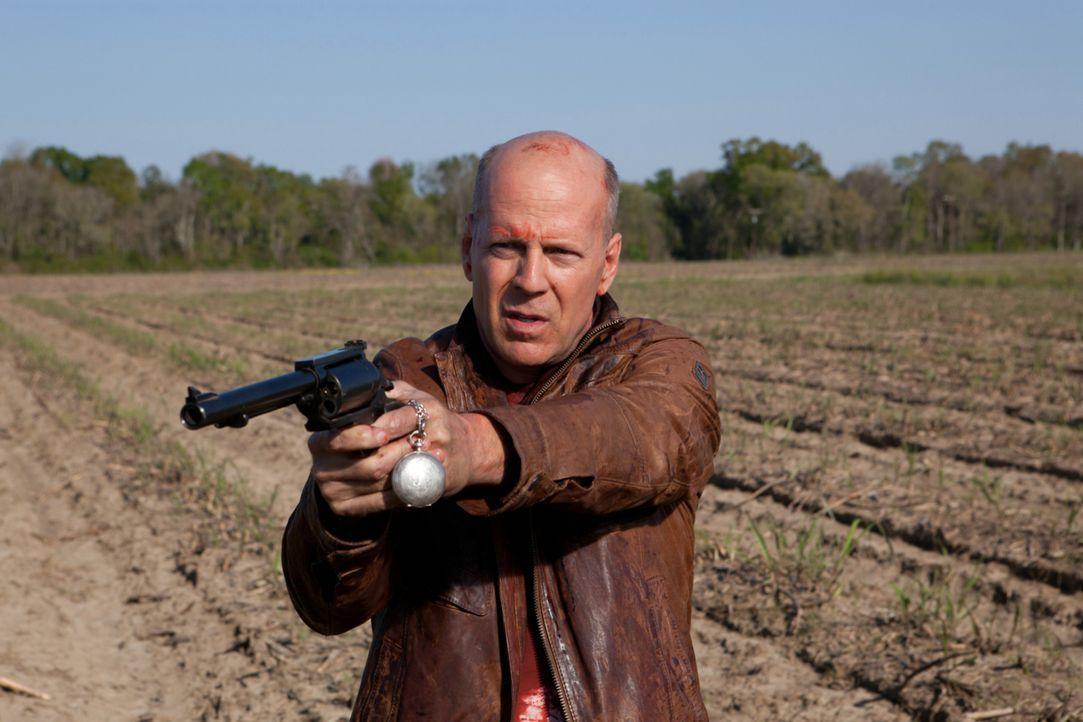 Der Joe aus der Zukunft (Bruce Willis) kennt keine Gnade ... - Bildquelle: 2012 Concorde Filmverleih GmbH