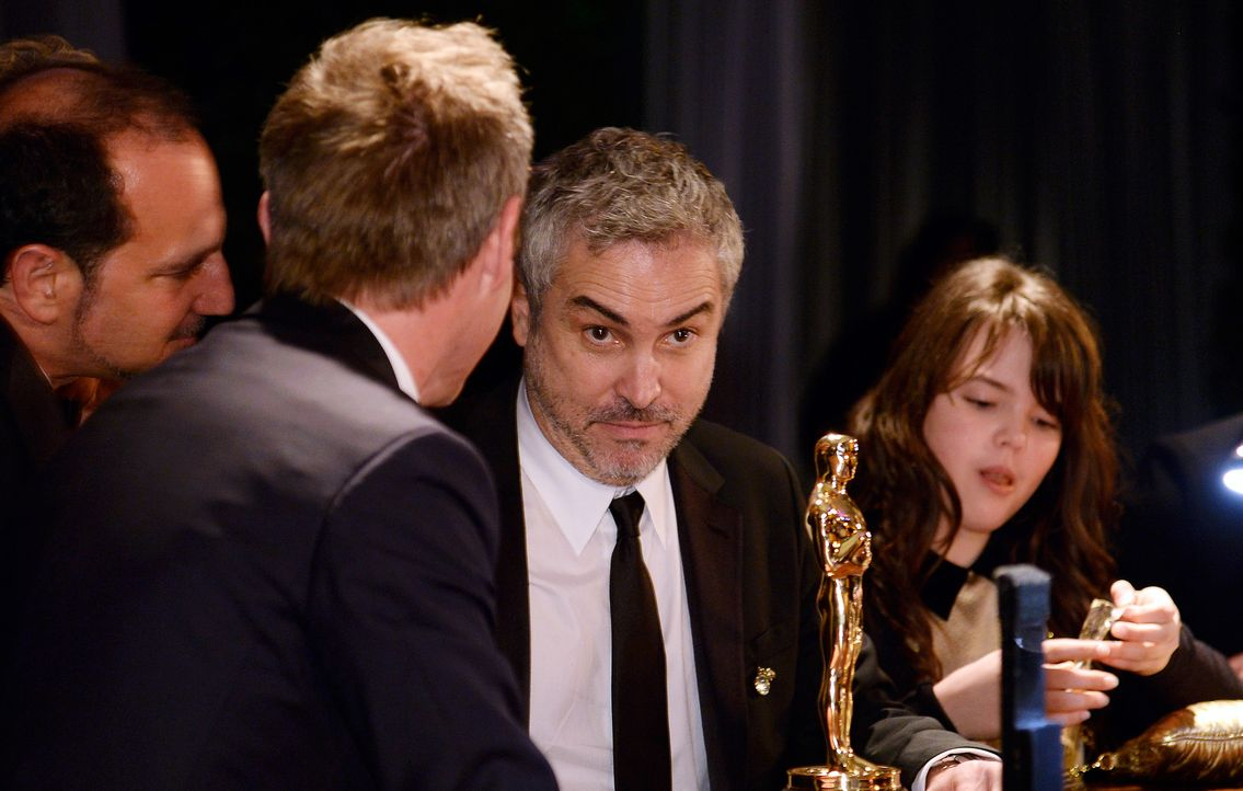 Oscars-Governors-Ball-Alfonso-Cuaron-140302-getty-AFP - Bildquelle: getty-AFP