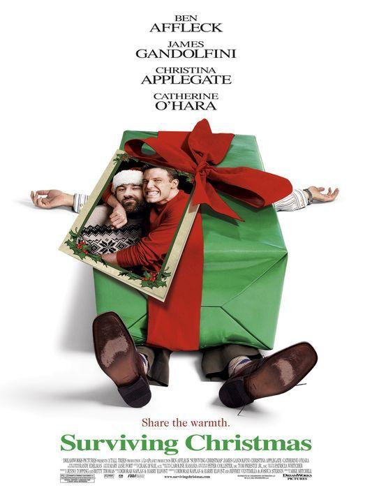 Jingle Bells - Eine Familie zum Fest: Drew Latham (Ben Affleck, r.) und Tom Valco (James Gandolfini, l.) ... - Bildquelle: Telepool GmbH