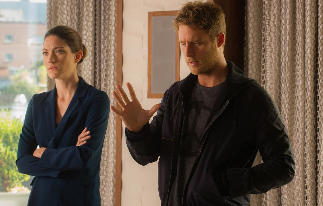 Stehen Naz zur Seite als sie verhaftet wird: Brian (Jake McDorman, r.) und Rebecca (Jennifer Carpenter, l.) ... - Bildquelle: Jeff Neira 2015 CBS Broadcasting, Inc. All Rights Reserved