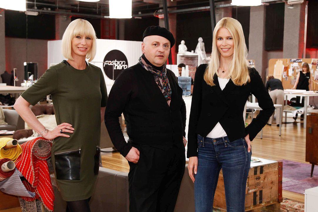 Fashion-Hero-Epi05-Atelier-12-ProSieben-Richard-Huebner-TEASER - Bildquelle: Richard Huebner