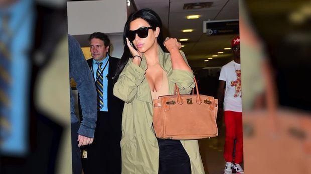 Kim Kardashian und Kanye West: Heiße Popo-Show bei Taco