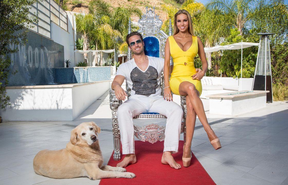"""Nach einem Jahr in L.A. ist sich das Glamour-Paar nicht mehr sicher, ob andere Städte nicht besser zum """"Yotta Way of Life"""" passen würden, deshalb be... - Bildquelle: Martin Ehleben ProSieben"""