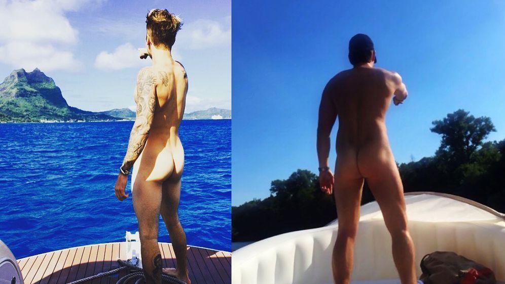 - Bildquelle: Instagram/justinbieber, Facebook/raulrichter