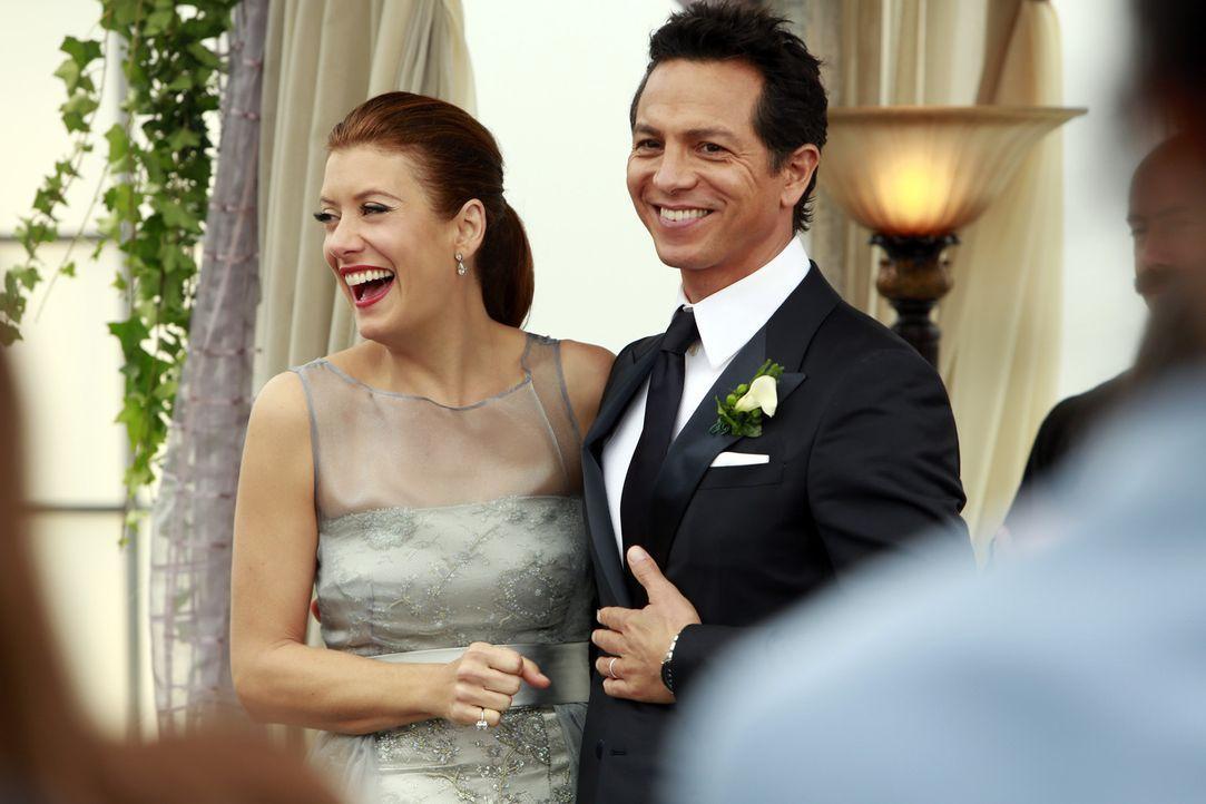 Es ist endlich soweit: Addisons (Kate Walsh, l.) und Jakes (Benjamin Bratt, r.) Hochzeit steht bevor ... - Bildquelle: ABC Studios