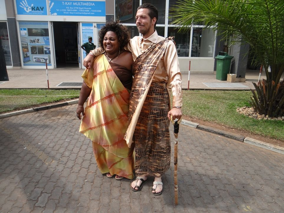 Ruanda Thilo und Vestine Dusabe