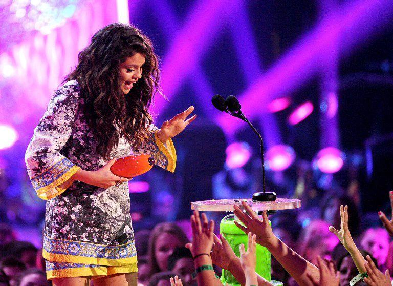 Kids-Choice-Awards-Selena-Gomez-2-14-03-29-getty-AFP - Bildquelle: getty-AFP