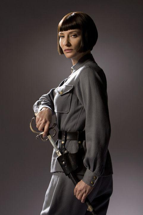 Durch einen mysteriösen Kristallschädel erhofft sich die skrupellose russische Agentin Irina Spalko (Cate Blanchett) eine unermesslich mächtige W... - Bildquelle: Lucasfilm Ltd. & TM. All Rights Reserved
