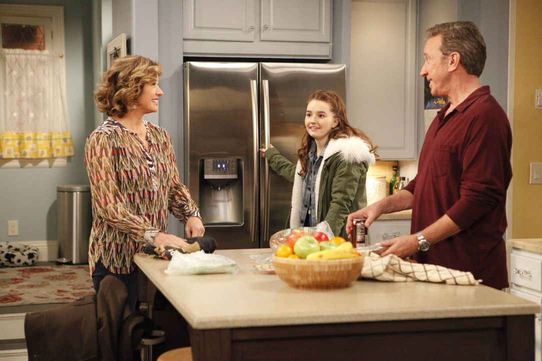 (v.l.n.r.) Vanessa Baxter (Nancy Travis); Eve Baxter (Kaitlyn Dever); Mike Baxter (Tim Allen) - Bildquelle: 2015-2016 American Broadcasting Companies. All rights reserved.