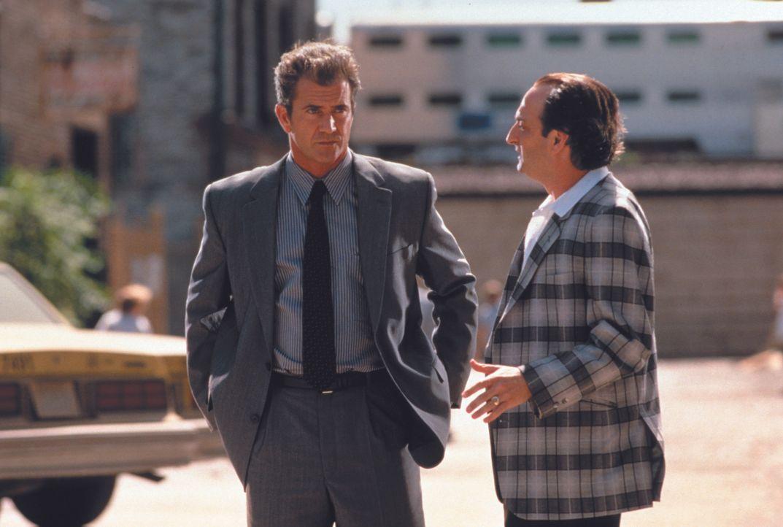 Porter (Mel Gibson, l.); Arthur Stegman (David Paymer, r.) - Bildquelle: Warner Bros.