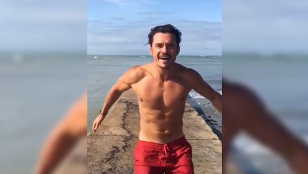 Orlando Bloom endlich auf Instagram: Lachflash wegen Nackt
