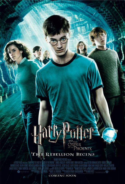 Harry Potter und der Orden des Phönix - Plakatmotiv - Bildquelle: Warner Brothers International
