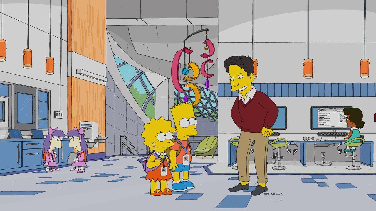 (v.l.n.r.) Lisa; Bart; Zane Furlong - Bildquelle: 2019-2020 Twentieth Century Fox Film Corporation.  All rights reserved.