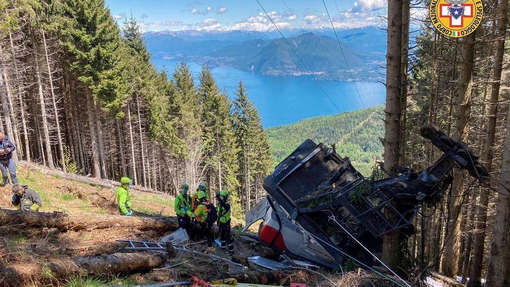 - Bildquelle: Uncredited/Soccorso Alpino e Speleologico Piemontese/dpa