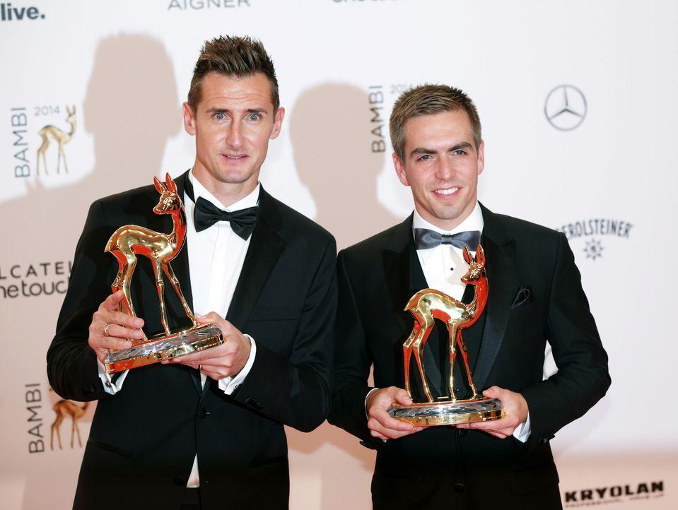 Miroslav-Klose-Philipp-Lahm-14-11-13-dpa - Bildquelle: dpa