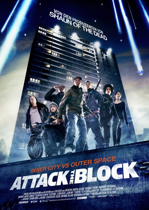 ATTACK THE BLOCK - Plakatmotiv - Bildquelle: Wild Bunch Germany 2013