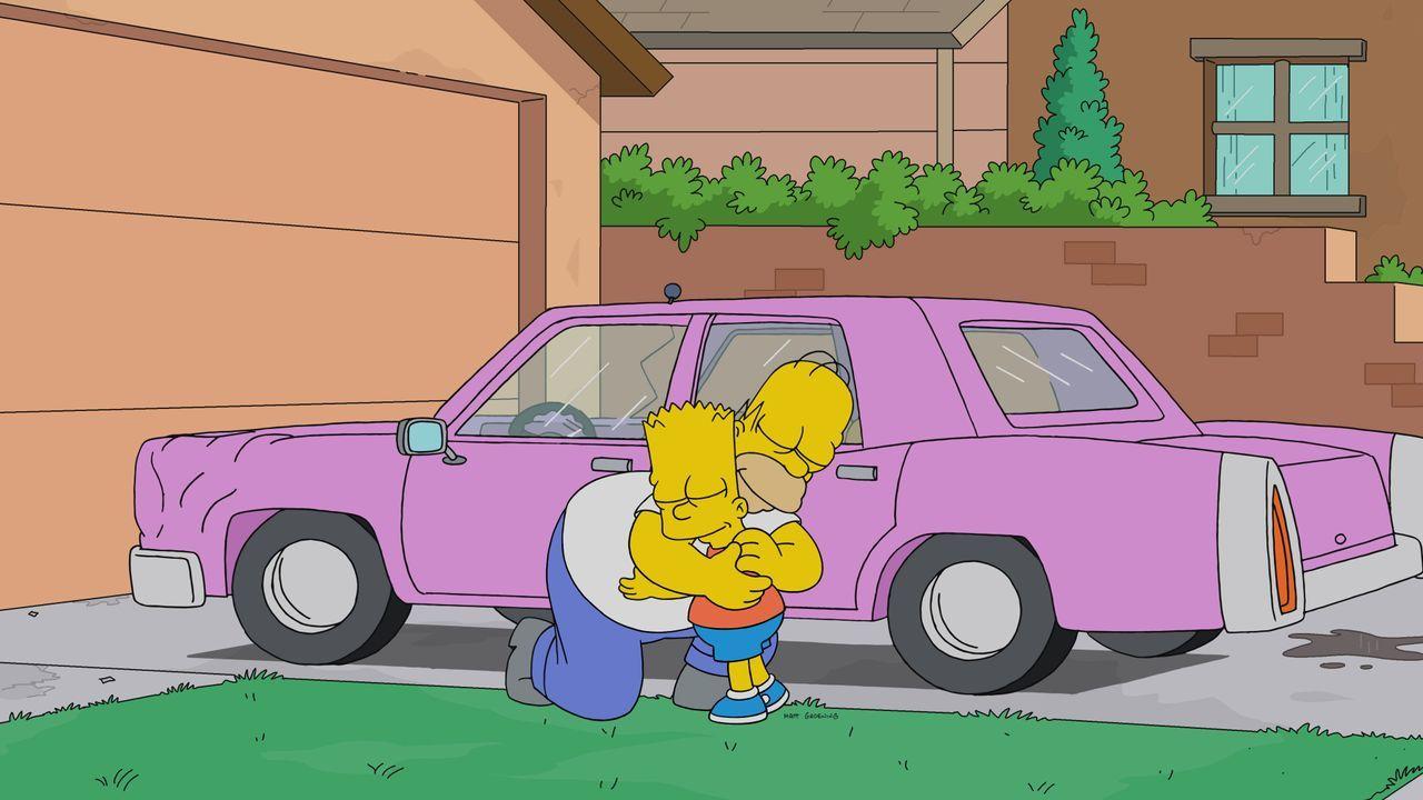 Homer (l.); Bart (r.) - Bildquelle: 2019-2020 Twentieth Century Fox Film Corporation.  All rights reserved.