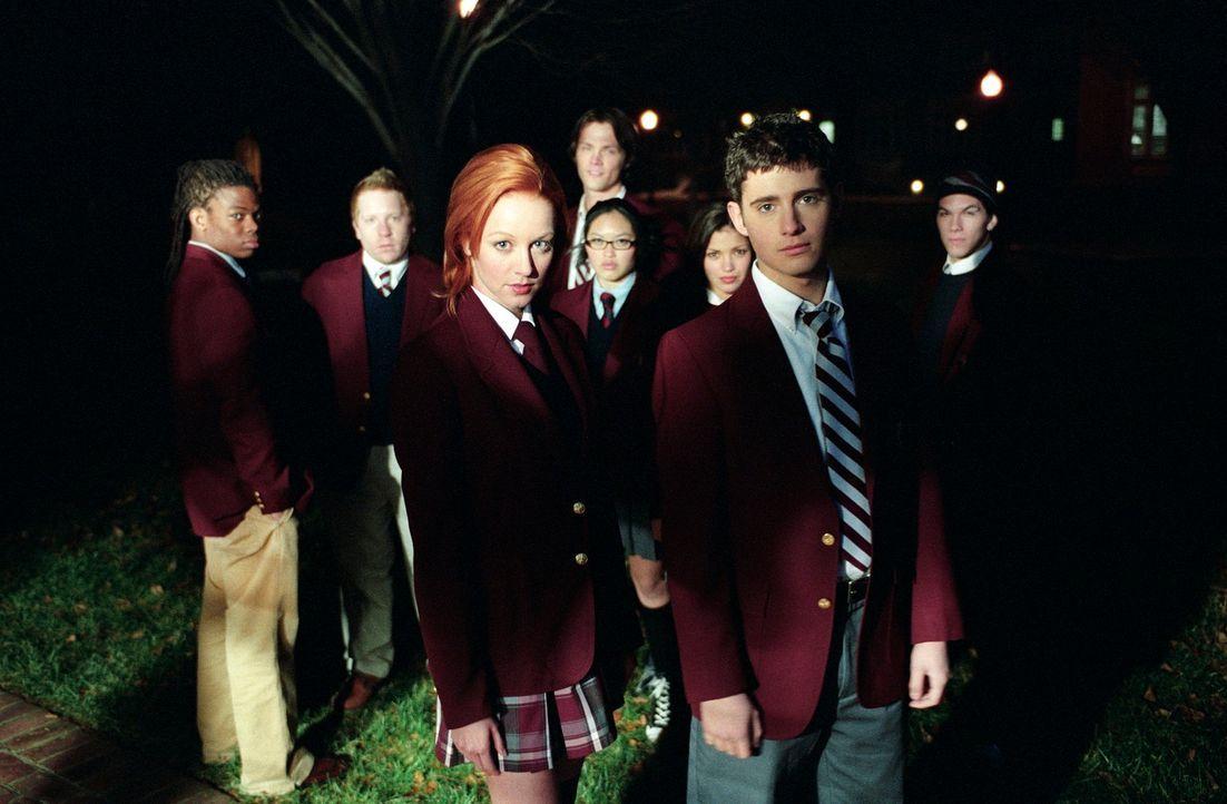 "Der ""Liar's Club"" (v.l.n.r.): Lewis (Paul James), Graham (Ethan Cohn), Dodger (Lindy Booth), Regina (Kristy Wu), Mercedes (Sandra McCoy), Owen (Juli... - Bildquelle: Square One Entertainment"