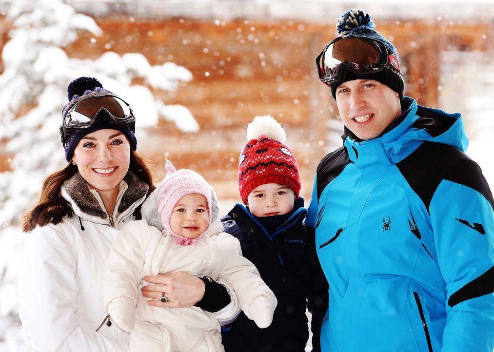 Royals-winterurlaub-1-John Stillwell-POOL-AFP - Bildquelle: John Stillwell/POOL/AFP
