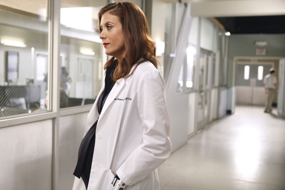 In Meredith' Gedankenwelt ist Addison (Kate Walsh) noch immer glücklich mit Derek verheiratet ... - Bildquelle: ABC Studios