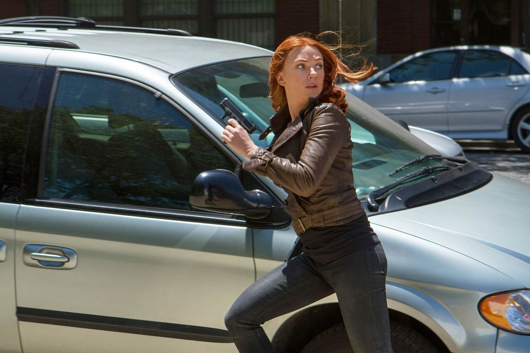 Scarlett-Johansson-Captain-America-The-Winter-Soldier-2014Marvel - Bildquelle: 2014 Marvel