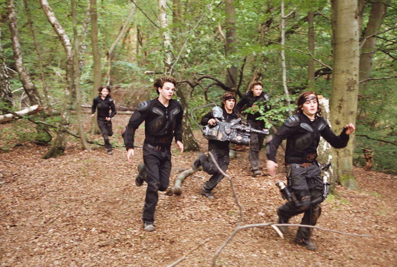 Trainieren im Wald: die Wilden Kerle ... - Bildquelle: Buena Vista International