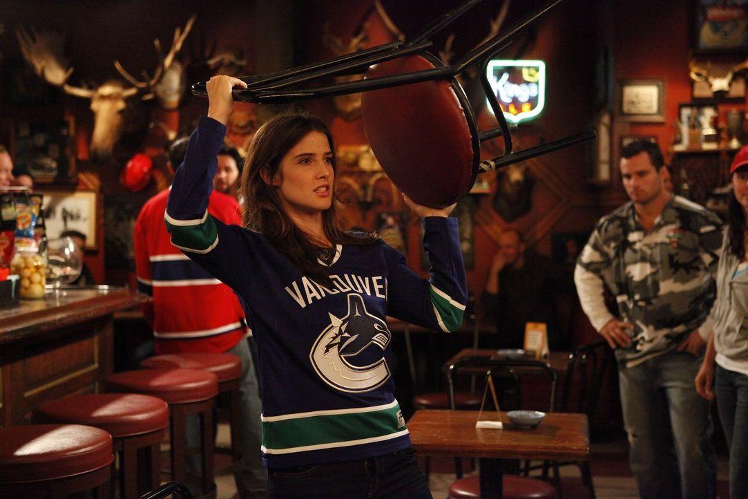 Robin (Cobie Smulders), die Kanadierin ist etwas anderes als die anderen ... - Bildquelle: 20th Century Fox International Television