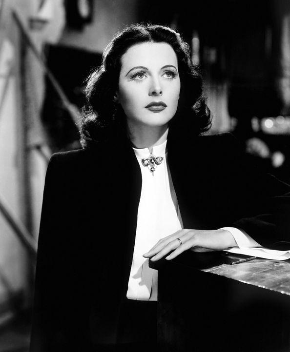 Hedy Lamarr - Frequenzspreizungsverfahren (1942) - Bildquelle: Picture Alliance/ Everett Collection