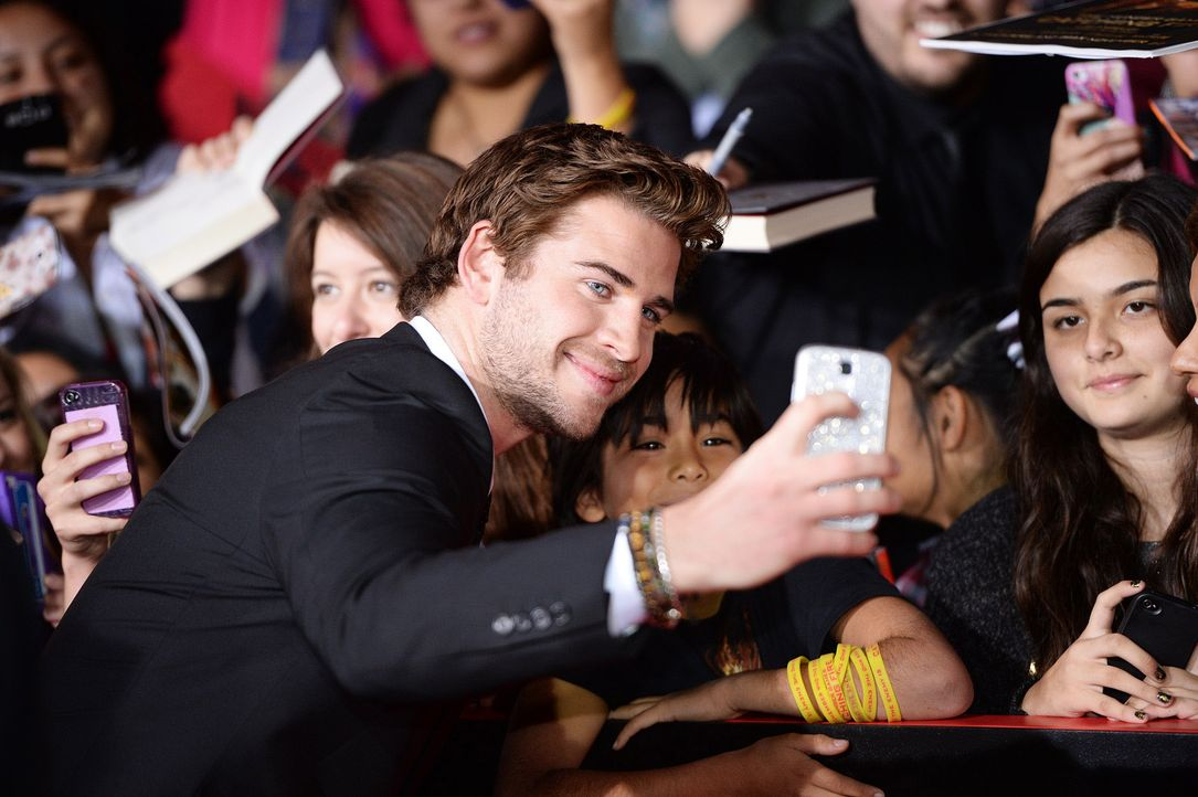 The-Hunger-Games-Premiere-LA-Liam-Hemsworth-13-11-18-AFP - Bildquelle: AFP