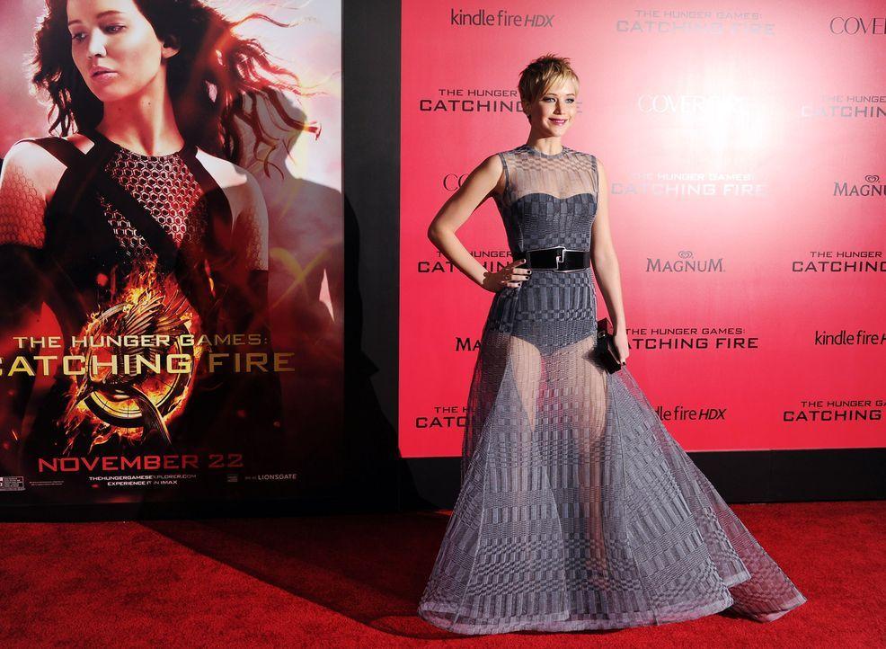 Jennifer-Lawrence-Tribute2-Premiere-LA-131118-2-AFP - Bildquelle: AFP