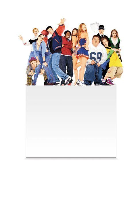 Nicht noch ein Tennie-Film! (v.l.n.r.) Eric Jungmann, Eric Christian Olsen, Chyler Leigh, Chris Evans, Cerina Vincent, Jaime Pressly, Ron Lester, Ri... - Bildquelle: 2003 Sony Pictures Television International. All Rights Reserved.