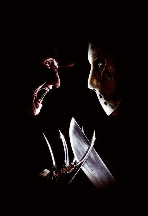 Freddy (Robert Englund, l.) vs. Jason (Ken Kirzinger, r.) ... - Bildquelle: Warner Bros. Pictures
