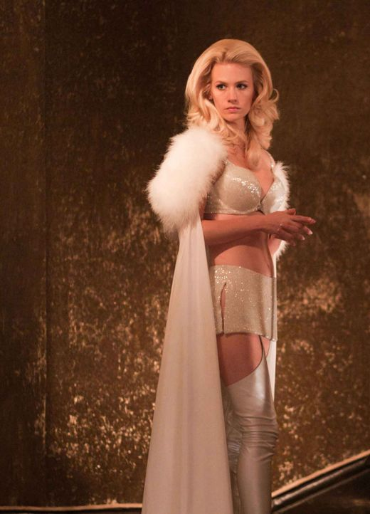 Der eiskalte Sebastian Shaw und die telepathisch veranlagte Emma Frost (January Jones) planen den nuklearen Holocaust, um sich die Weltherrschaft an... - Bildquelle: TM and   2011 Twentieth Century Fox Film Corporation, All Rights Reserved.