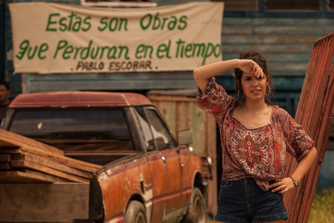 Die hübsche Maria (Claudia Traisac) engagiert sich in einem Klinikum ihres kleinen Heimatorts in Kolumbien, doch ihr Vermögen kommt aus einer ganz a... - Bildquelle: 2014 CHAPTER 2 - NORSEAN PLUS - PARADISE LOST FILM A.I.E