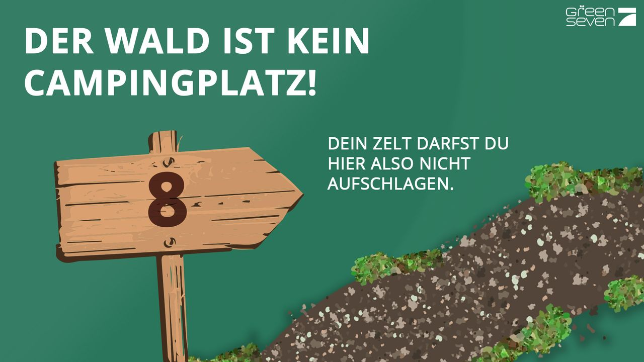 Kein Campingplatz - Bildquelle: ProSieben
