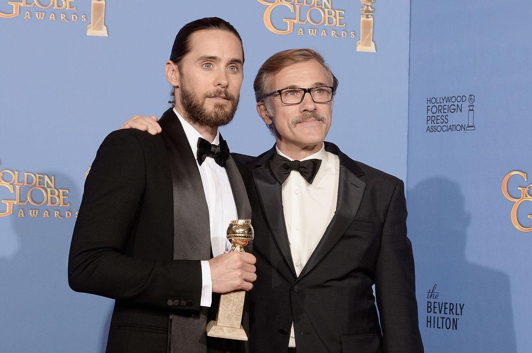 Golden-Globe-Jared Leto-Christoph-Waltz-14-01-12-getty-AFP - Bildquelle: getty-AFP