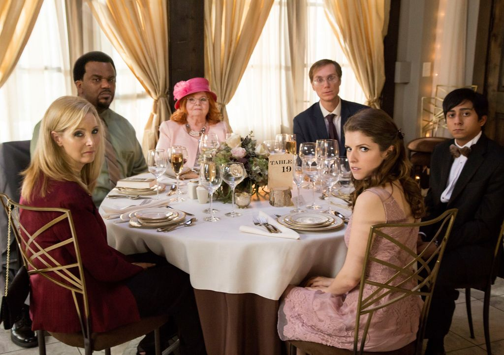 (v.l.n.r.) Bina (Lisa Kudrow); Jerry (Craig Robinson); Jo (June Squibb); Walter (Stephen Merchant); Eloise (Anna Kendrick); Renzo (Tony Revolori) - Bildquelle: Jace Downs 2017 Twentieth Century Fox Film Corporation.  All rights reserved.