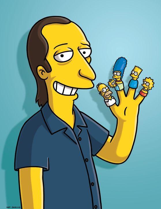 (20. Staffel) - Der ehemalige Produzent der Simpsons: David Mirkin ganz in Gelb - Bildquelle: 2008-2009 Twentieth Century Fox Film Corporation