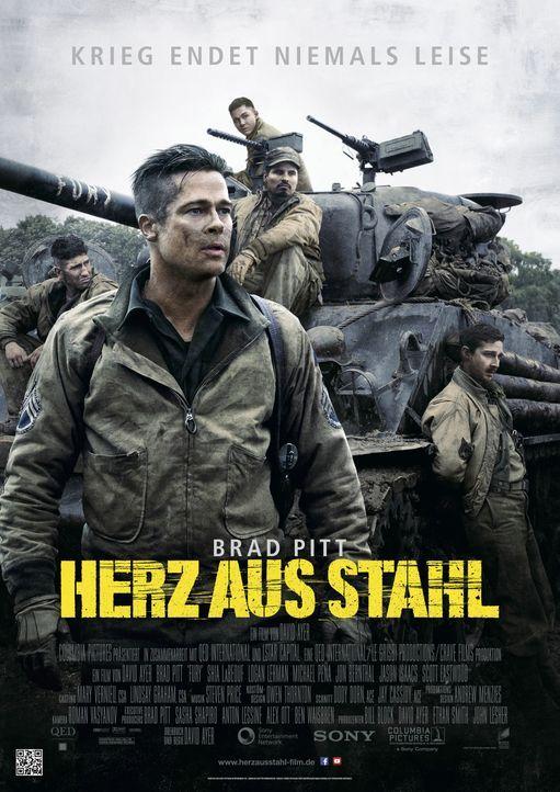 FURY_Hauptplakat-c-2014- Sony- Pictures- Releasing- GmbH - Bildquelle: 2014 Sony Pictures Releasing GmbH