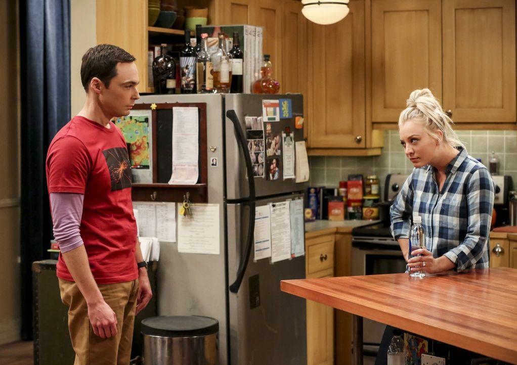 Als sich Sheldon (Jim Parsons, l.) darauf einlässt, mit dem Geologen Bert zusammenzuarbeiten, hat er Angst, dass dadurch sein Ansehen geschwächt wir... - Bildquelle: Warner Bros. Television