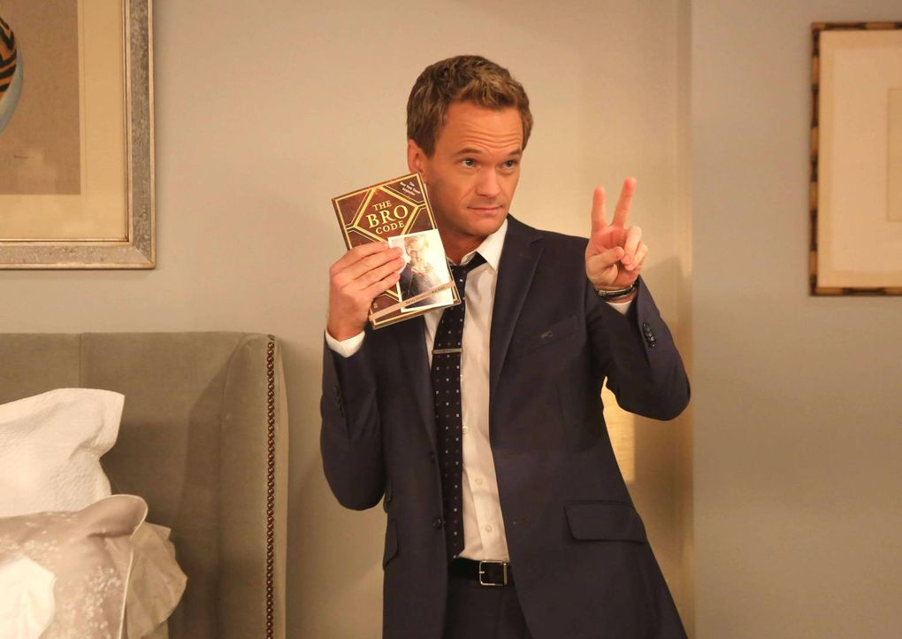 Barney (Neil Patrick Harris) beschuldigt Ted, den Bro-Code gebrochen zu haben. Doch wie wird Marshall, der als Richter fungieren soll, entscheiden? - Bildquelle: 2013 Twentieth Century Fox Film Corporation. All rights reserved.