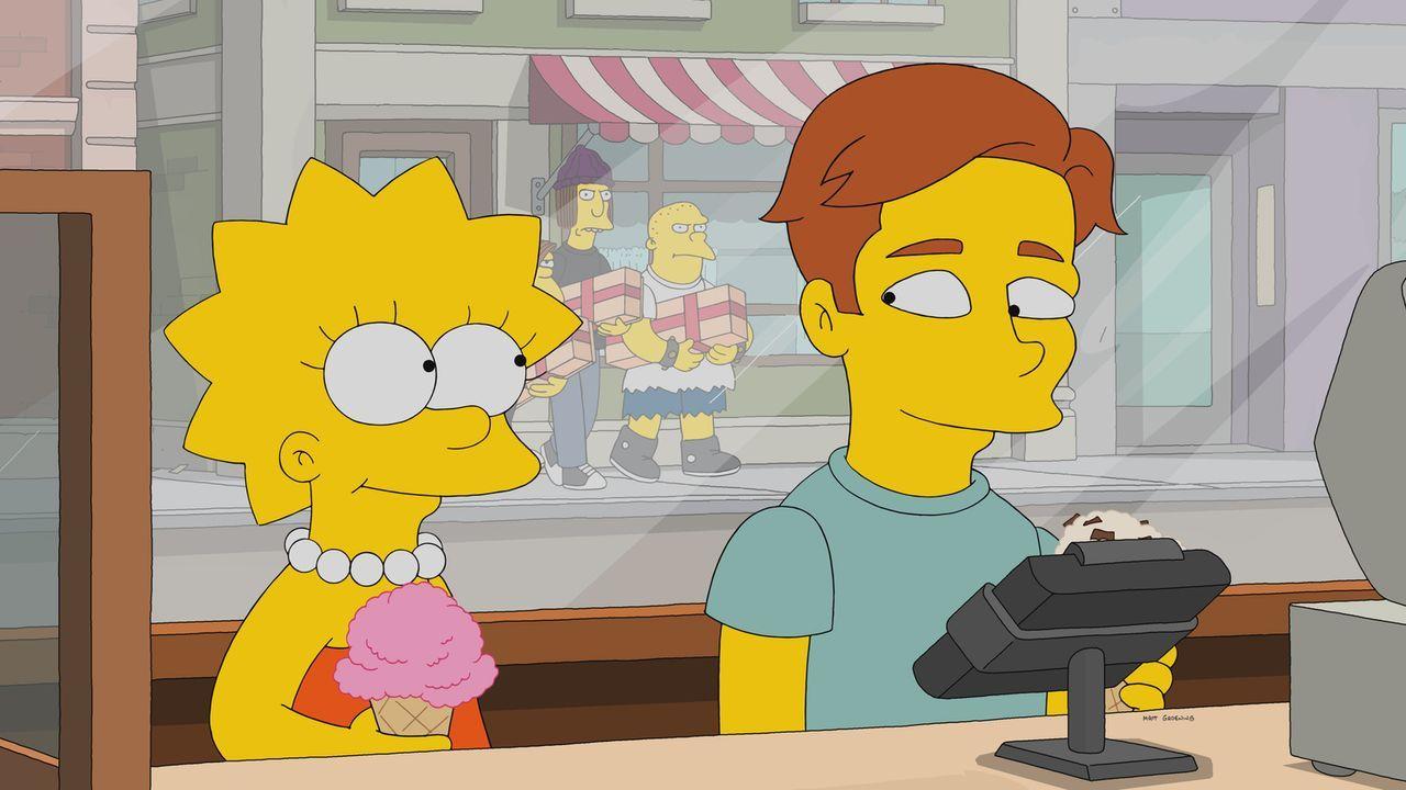 Ausgerechnet als sich Lisa (l.) in den arroganten Musiker Brendan (r.) verliebt, entdeckt auch Nelson seine Liebe für Lisa wieder. Jetzt muss sie si... - Bildquelle: 2017-2018 Fox and its related entities.  All rights reserved.