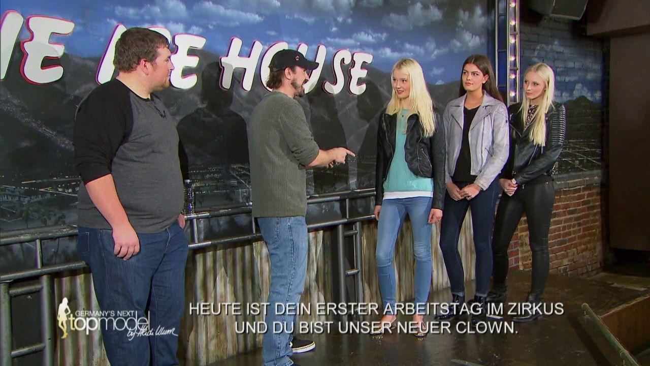 GNTM-Stf10-Epi08-ImproTeaching-05-ProSieben - Bildquelle: ProSieben